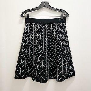 Max Studio || Sweater Knit A-Line Skirt